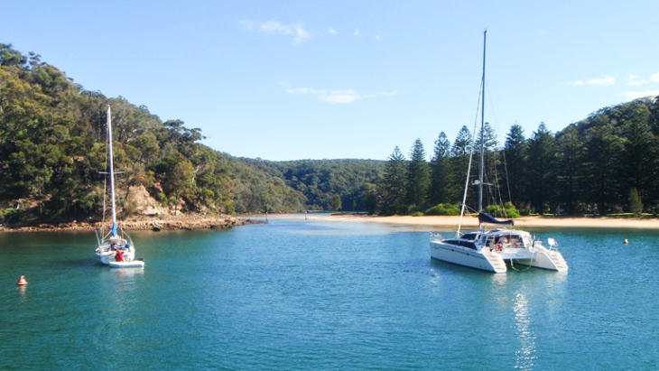 Winter chartering on Pittwater
